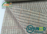 stiff handfeeling bonded interlining for men's suit  by good quality
