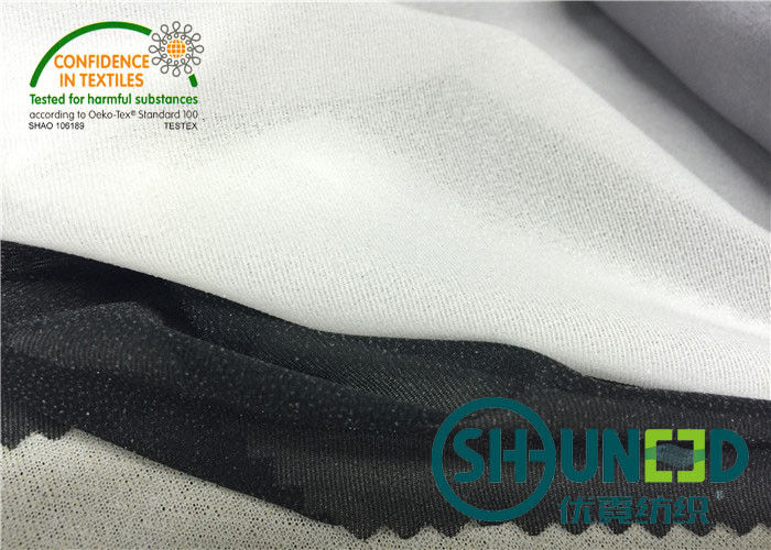 30D * 30D Medium Weight Fusible Interfacing , Stretch Interfacing Sports Fabric C3032PS