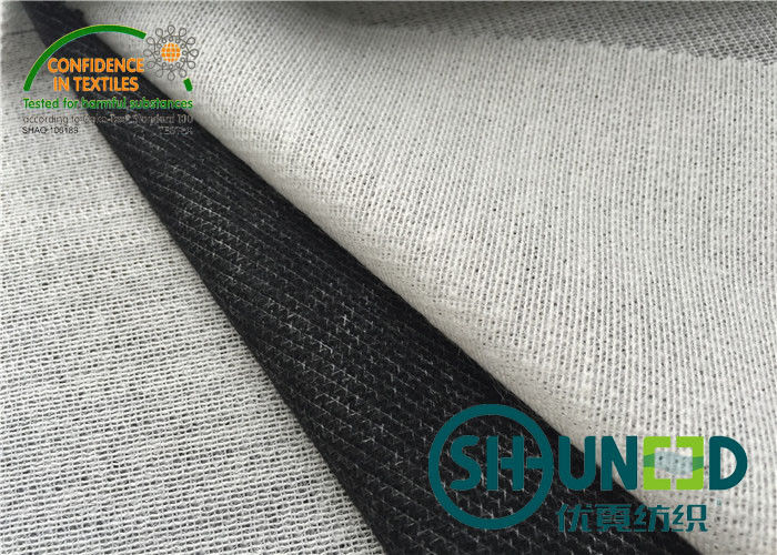 Adhensive Fusible Knit Interfacing , B8000B Men ' s Suit Fusible Tricot Interfacing