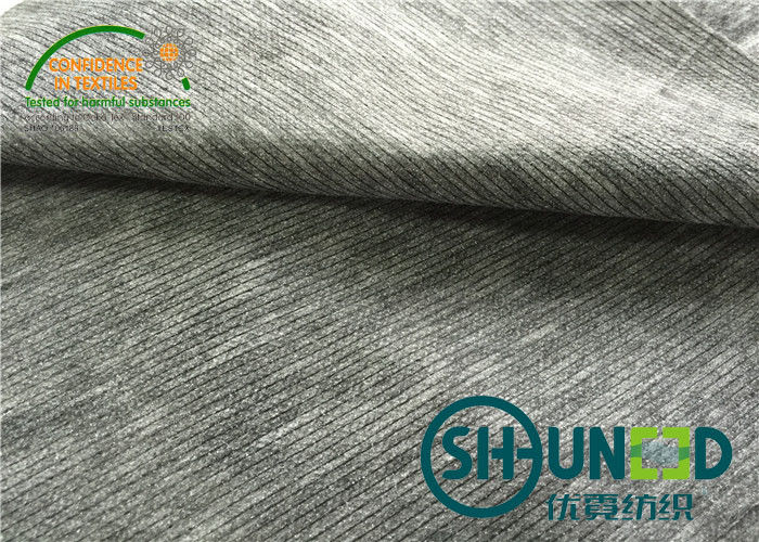 Sewing interfacing Stitched Non Woven Interlining N8371S With Double Dot Pa Coating