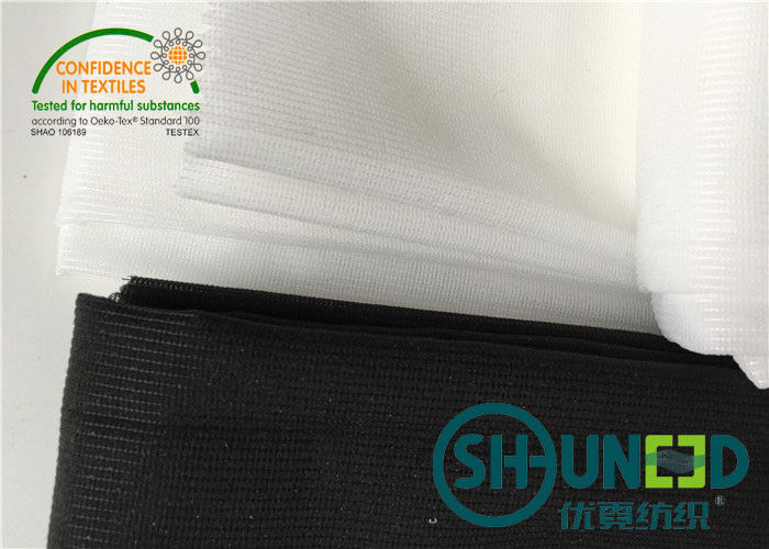 Polyester Interlining Material Warp And Tricot Knitted W1028D