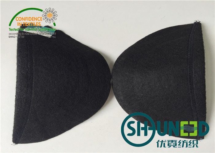 Garment Accessories Womens Shoulder Pads White / Black Color For Apparel Industry