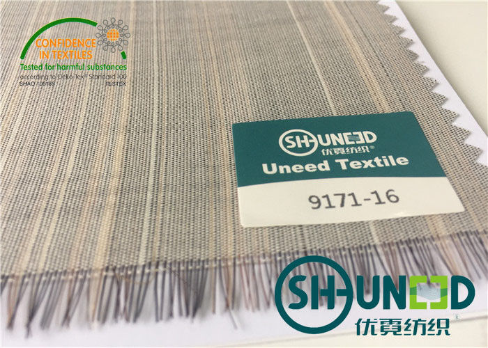Horse Tail Woven Interlining Fabric For Uniform And Business Casual Suits