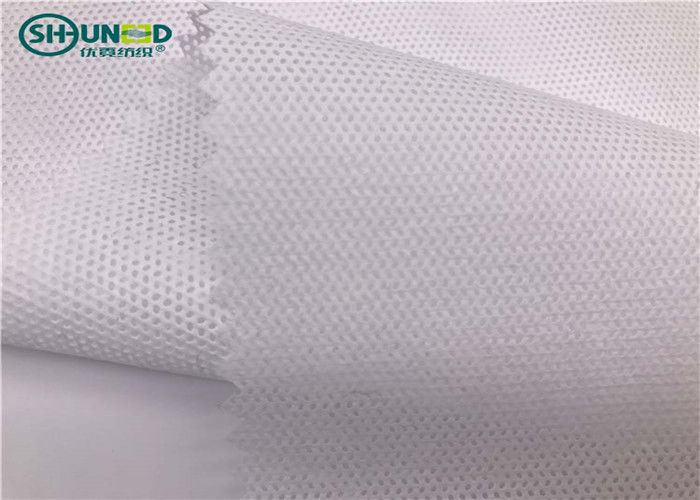 Easy Tear 50gsm Pp Spunbond Non Woven Fabric For Garment Embroidery Backing