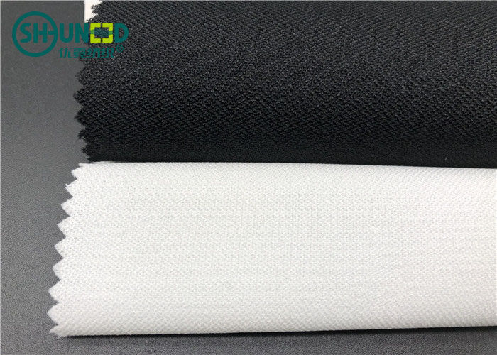 Colorful PA Coating Fusible Lining Fabric / Dress Microdot Fusible Interlinings