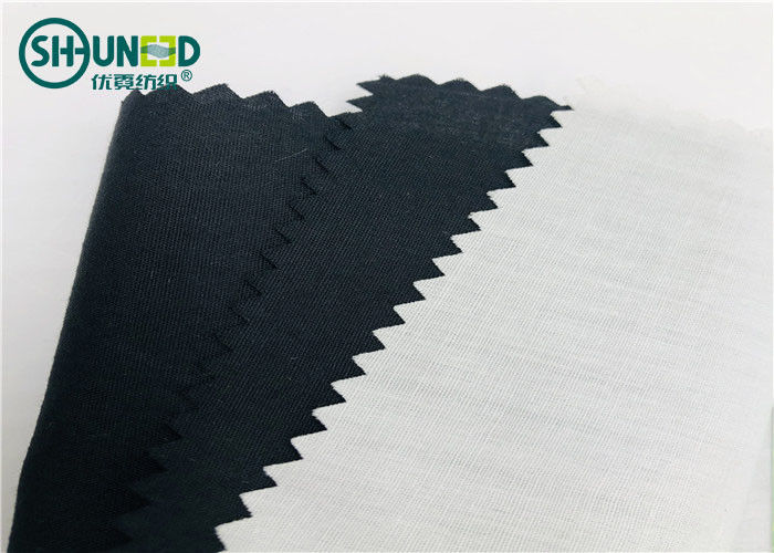 Plain Woven Pocket Lining Fabric 80% Polyester / 20% Cotton 45*45 , 110*76