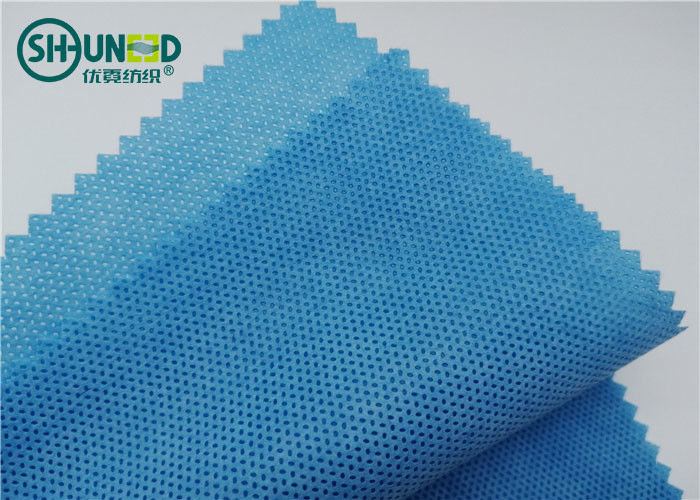 Polypropylene PP Spunbond Non Woven Fabric For Surgical Gown / Drape