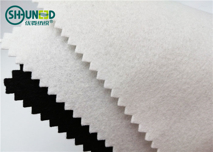 Needle Punched Polyester Felt Fabric Roll For Garment Shoes Eco - Friendly