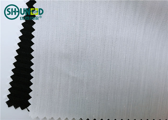 Polyester Cotton Mixed Garments Accessories 100gsm Herringbone Pocketing Roll Sack Cloth Fabric