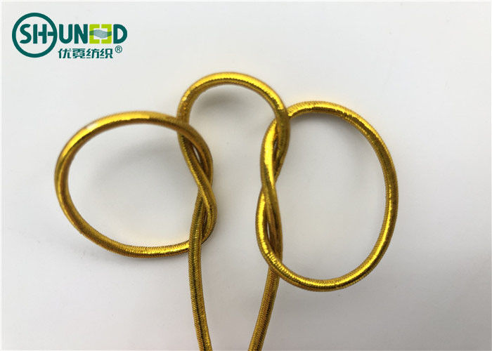 Round Shape Garments Accessories Thread Braided Elastic String For Gift Packing