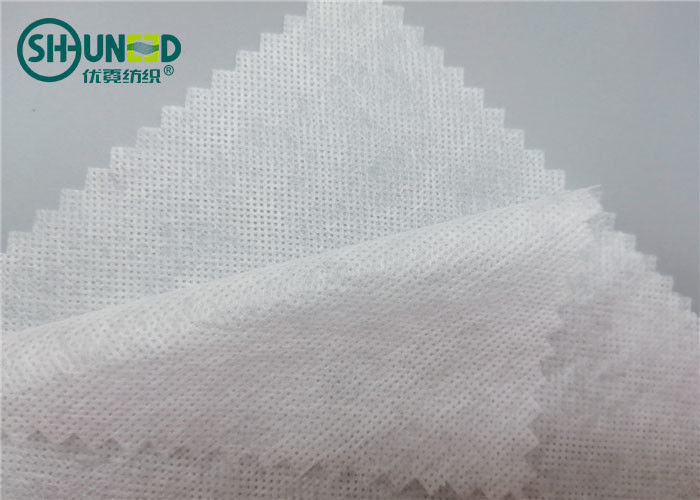 PVA Material Embroidery Backing Fabric Non Woven Fabric Rolls 30gsm Weight