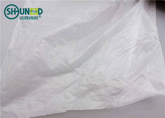 Mesh Point Film Fusing Interlining Adhesive Non Woven Rolls 0.9 - 180cm For Bonding Shirt